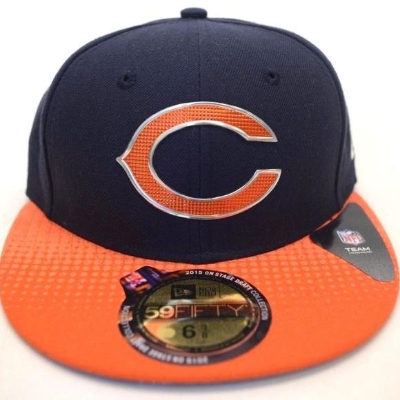 df32e9e4e Men s New Era Chicago Bears 59Fifty Sz 6 3 8 Cap